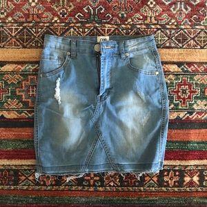 Showpo Denim Skirt